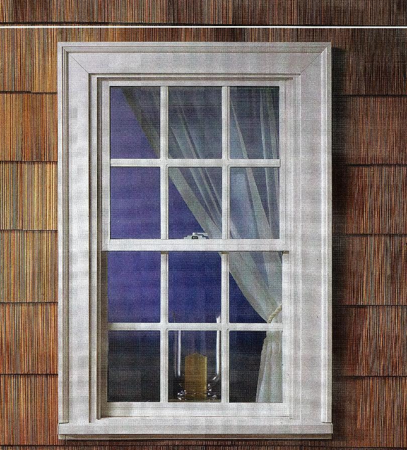 Double Hung Blinds : Welded vinyl double hung low e glass argon gas tilt in