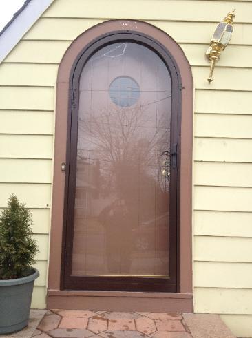 Painted Screen Door