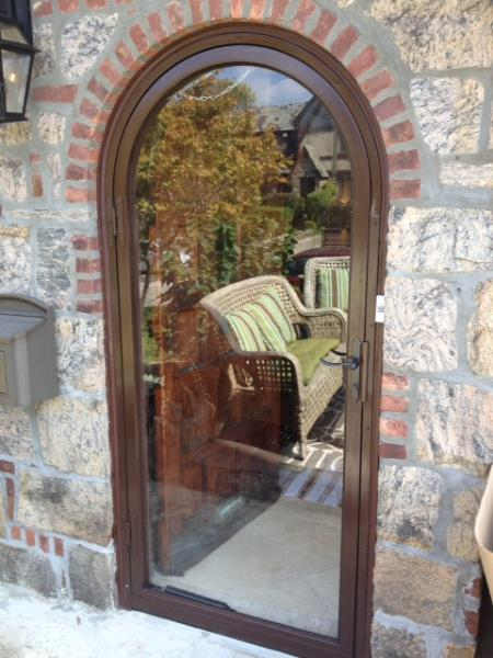 ARCH TOP DOOR FULL VIEW ROUND TOP CIRCLE TOP DOOR & arch top doors archtop doors round top doors special shape doors ...