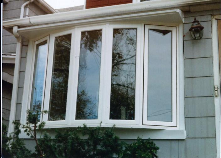 Welded Vinyl Double Hung Low E Glass Argon Gas Tilt In